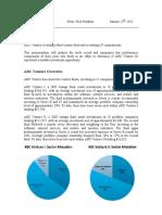 ABC Venture - Case Study Write Up
