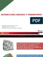 1 Clase Extraccion Carguio y Transporte 1
