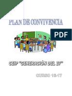 PLAN DE CONVIVENCIA 2016-2017