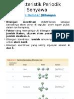 Karakteristik Periodik Senyawa