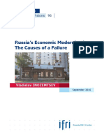 Russia's Economic Modernization