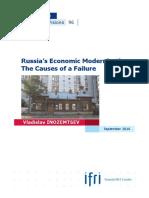 Russia's Economic Modernization