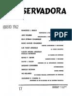 Revista Conservadora No. 17 Feb. 1962