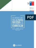 Politica de Desarrollo Curricular 2016