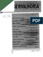 Revista Conservadora No. 19 Abr. 1962