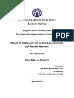 Estudo de Sistemas Fixos de Combate a Incendio Por Agentes Gasosos