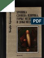 Grof Djordje Brankovic - Hronika Slovena Ilirika Gornje Mezije i Donje Mezije