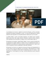 Exponen Vasijas y Máscaras Coloniales Hechas en Corocoro