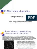 1 El ADN Material Genetico