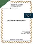 TRATAMIENTO PEDAGOGICO