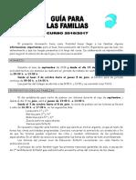 GUÍA FAMILIAS CURSO 2016-17