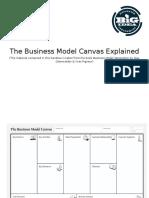 Business Model Canvas Explained Handout