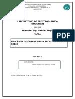 Obtencion de NAOH Por Metodos Electroquímicos