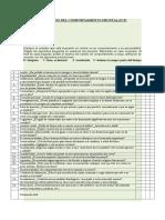 Comportamiento Frontal (Inventario)