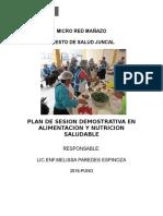 150919248 Plan de Sesion Demostrativa en Alimentacion y Nutricion Saludable