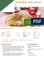 Corona de Hojaldre Con Carne Afterfiestas - Nestlé Cocina