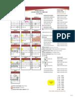Calendario Anual Derecho 2016-B