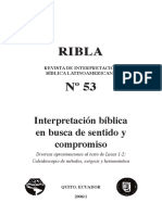 Revista de Interpretación