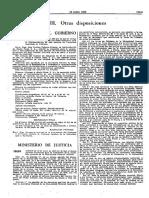 Normativa Orden de 16-6-1982