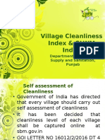 Village Cleanliness Index & SLWM Index