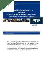 2010 IRGR North America Presentation Financial Reform Legislation