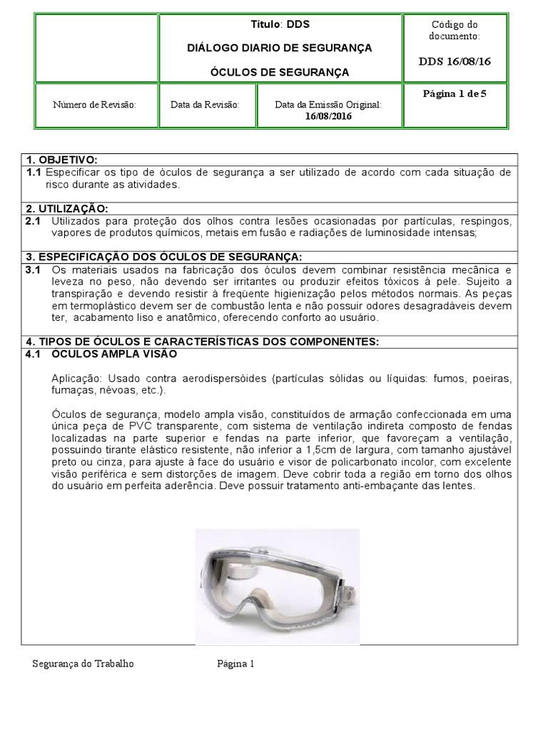 e86b5ae93f41a Dds Oculos de Segurança