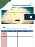Actividades del area de Español ITSPS IA.doc