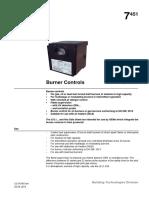 LFL Gas Burner Control