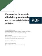 Escenarios de Cambio Climático y Tendencias en La Zona Del Golfo de México