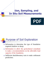 2- Exploration, Sampling, And in Situ Soil