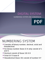 5a (Digital System) Number System