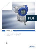 OPTIFLUX Handbook for Electromagnetic Flowmeters