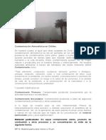 Contaminación Atmosférica en Chillán