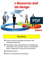 Topic 9_Human Resources and Job Design