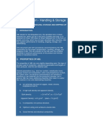 Appendix 1 - Handling & Stowage of HBI