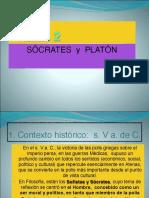 2. Sócrates y Platón
