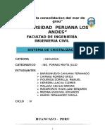 Monografia de Sistema de Cristalizacion