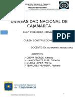Aplicación de Encofrados Deslizantes Reservorio Intze Final