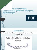 6ta. Espiroquetas Pseudomona Haemophyl. 2016