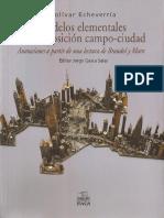 Echeverría Modelos elementales de la oposición campo ciudad