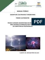 Manual Teórico-Electricidad y Magnetismo