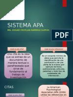 Sistema Apa
