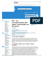E6 - La Recuperación Del Agua Contenida en El Rocío - Wikiwa
