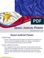Quasi Judicial Power
