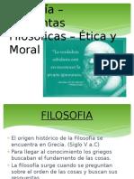 Filosofía-etica y Moral
