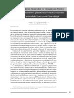 Los Intermediarios Financieros No Bancarios en Mexico