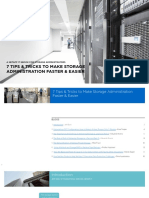 eBook 7 Tips to Make Storage Administration Faster