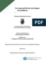 PFC - Gestión de La Reparación de Un Buque en Astillero