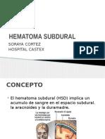 hematomasubdural