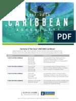 Harmony Caribbean Deployment Flyer 2017 2018